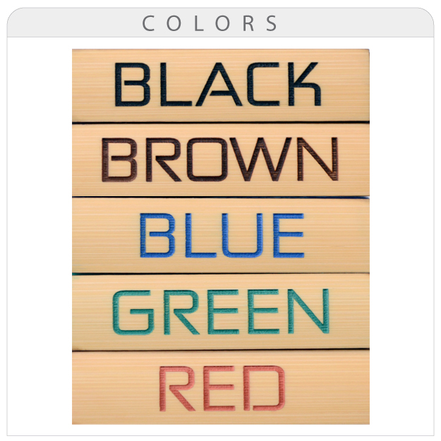 name tag color fill options