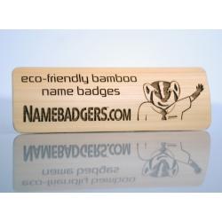ecofriendly name tag