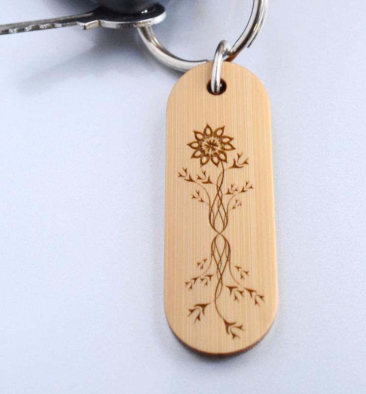 Bamboo Key Charm
